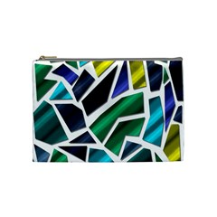 Mosaic Shapes Cosmetic Bag (Medium)