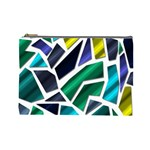Mosaic Shapes Cosmetic Bag (Large)  Front