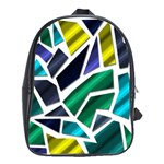 Mosaic Shapes School Bags(Large)  Front