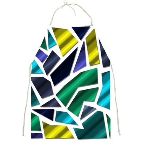 Mosaic Shapes Full Print Aprons