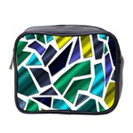 Mosaic Shapes Mini Toiletries Bag 2-Side Front