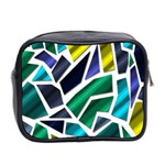 Mosaic Shapes Mini Toiletries Bag 2-Side Back
