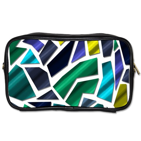 Mosaic Shapes Toiletries Bags 2-Side
