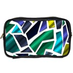 Mosaic Shapes Toiletries Bags 2-Side Back