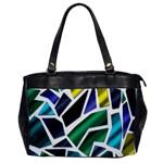 Mosaic Shapes Office Handbags Front