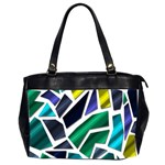 Mosaic Shapes Office Handbags (2 Sides)  Front