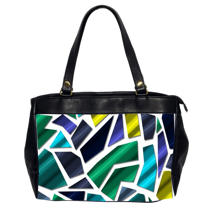 Mosaic Shapes Office Handbags (2 Sides)