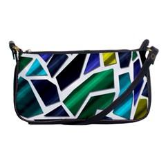 Mosaic Shapes Shoulder Clutch Bags