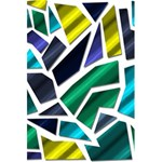 Mosaic Shapes 5.5  x 8.5  Notebooks Back Cover Inside