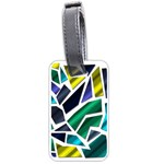 Mosaic Shapes Luggage Tags (One Side)  Front