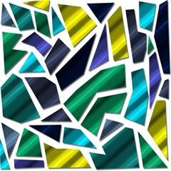Mosaic Shapes Magic Photo Cubes