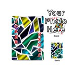 Mosaic Shapes Playing Cards 54 (Mini)  Front - Joker2
