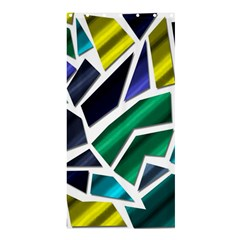 Mosaic Shapes Shower Curtain 36  x 72  (Stall)
