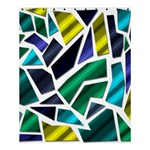 Mosaic Shapes Shower Curtain 60  x 72  (Medium)  54.25 x65.71 Curtain