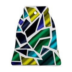 Mosaic Shapes Ornament (Bell)