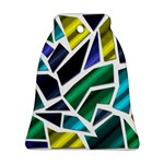 Mosaic Shapes Ornament (Bell)  Front