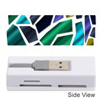 Mosaic Shapes Memory Card Reader (Stick)  Front
