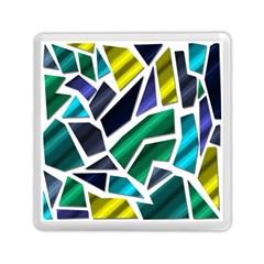 Mosaic Shapes Memory Card Reader (Square)