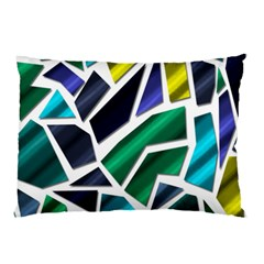 Mosaic Shapes Pillow Case (Two Sides)