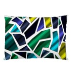 Mosaic Shapes Pillow Case (Two Sides) Back