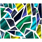 Mosaic Shapes Deluxe Canvas 14  x 11  14  x 11  x 1.5  Stretched Canvas