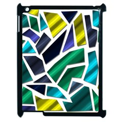Mosaic Shapes Apple iPad 2 Case (Black)