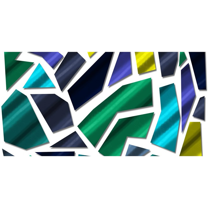 Mosaic Shapes YOU ARE INVITED 3D Greeting Card (8x4)
