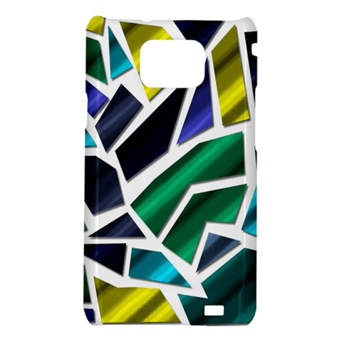 Mosaic Shapes Samsung Galaxy S2 i9100 Hardshell Case