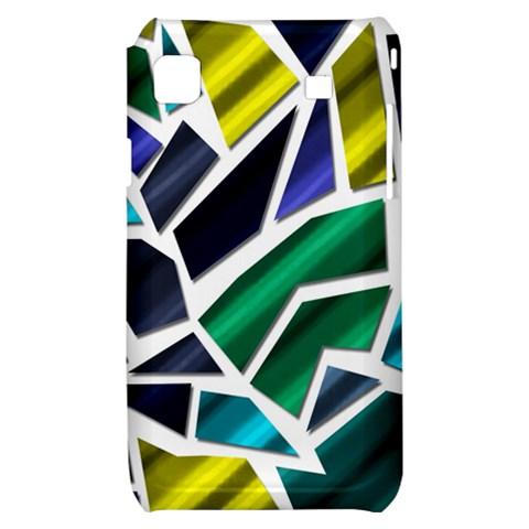Mosaic Shapes Samsung Galaxy S i9000 Hardshell Case