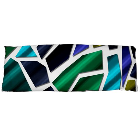 Mosaic Shapes Body Pillow Case Dakimakura (Two Sides)