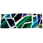 Mosaic Shapes Body Pillow Case Dakimakura (Two Sides) Back