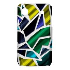 Mosaic Shapes Samsung Galaxy SL i9003 Hardshell Case