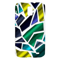 Mosaic Shapes Samsung Galaxy S II Skyrocket Hardshell Case