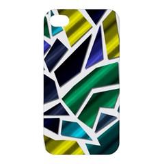 Mosaic Shapes Apple iPhone 4/4S Premium Hardshell Case