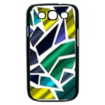 Mosaic Shapes Samsung Galaxy S III Case (Black) Front