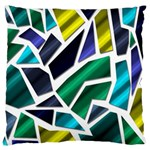 Mosaic Shapes Large Cushion Case (Two Sides) Front