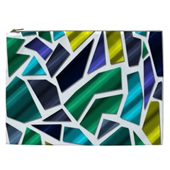 Mosaic Shapes Cosmetic Bag (XXL)