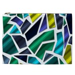 Mosaic Shapes Cosmetic Bag (XXL)  Front