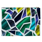 Mosaic Shapes Cosmetic Bag (XXL)  Back