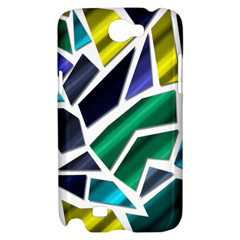 Mosaic Shapes Samsung Galaxy Note 2 Hardshell Case