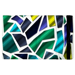 Mosaic Shapes Apple iPad 2 Flip Case