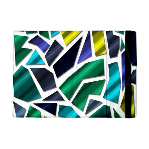 Mosaic Shapes Apple iPad Mini Flip Case