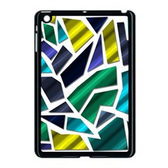 Mosaic Shapes Apple iPad Mini Case (Black)