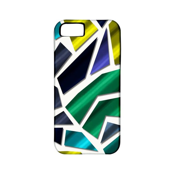 Mosaic Shapes Apple iPhone 5 Classic Hardshell Case (PC+Silicone)