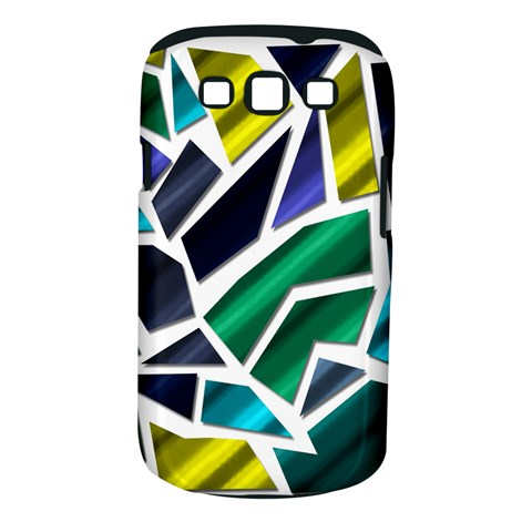 Mosaic Shapes Samsung Galaxy S III Classic Hardshell Case (PC+Silicone)