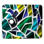 Mosaic Shapes Samsung Galaxy Note II Flip 360 Case Front
