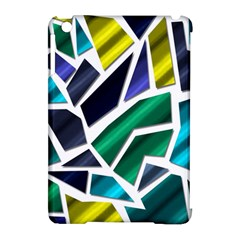 Mosaic Shapes Apple iPad Mini Hardshell Case (Compatible with Smart Cover)