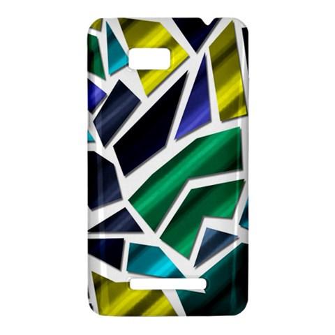 Mosaic Shapes HTC One SU T528W Hardshell Case