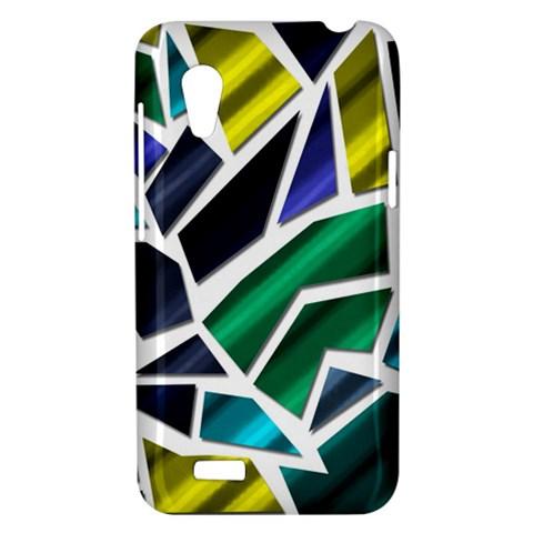 Mosaic Shapes HTC Desire VT (T328T) Hardshell Case