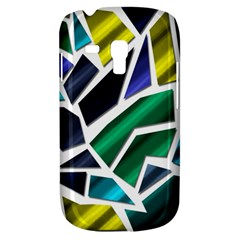 Mosaic Shapes Samsung Galaxy S3 MINI I8190 Hardshell Case